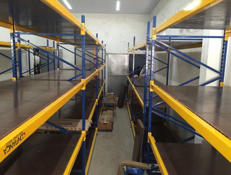 Loja de Porta Pallet Convencional Ceará - Porta Pallet Industrial