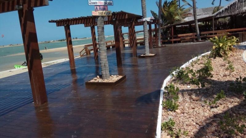 Madeira Ecológica Deck Sustentável Ferraz de Vasconcelos - Madeira Ecológica Fachada Sustentável