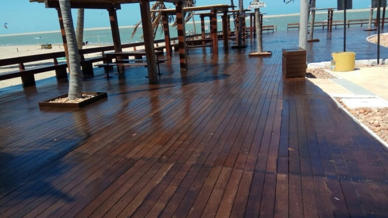 Onde Comprar Madeira Plástica Ambiental Deck Santo André - Madeira Plástica Piso