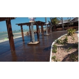 madeira ecológica deck Santa Rita