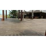 madeira ecológica para deck sustentável