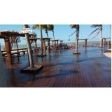 madeira ecológica para deck sustentável Cajamar