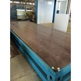 madeira plástica piso