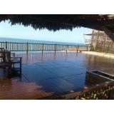 madeira plástica piso Fortaleza