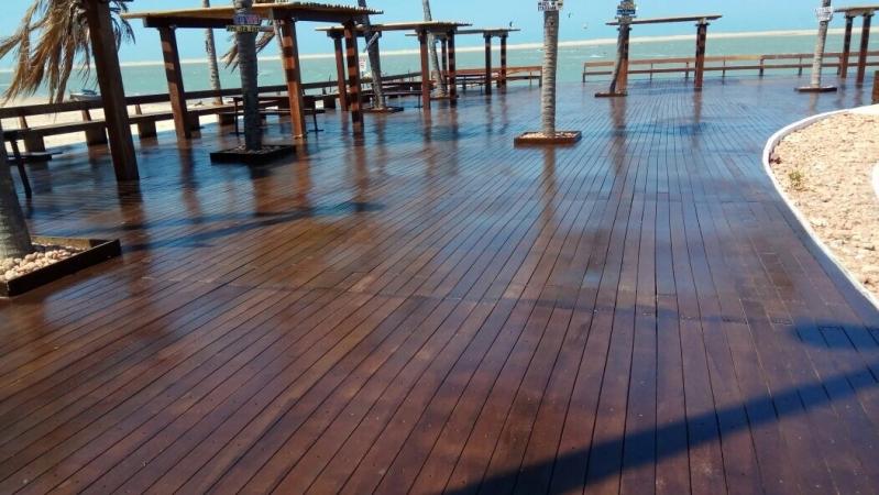 Venda de Madeira Ecológica Deck Sustentável Ribeirão Pires - Madeira Plástica Ecológica para Deck